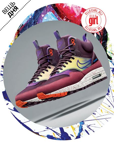 Фото №1 - Вещь дня: Кроссовки Nike Air Max 1 SneakerBoot