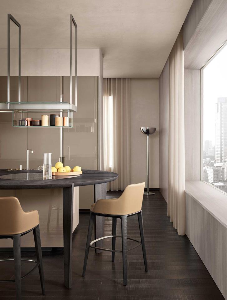 Фото №2 - Shape: новая стильная кухня Poliform