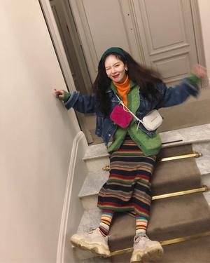 Фото №11 - В стиле Хёны: носим ретро и радуемся жизни