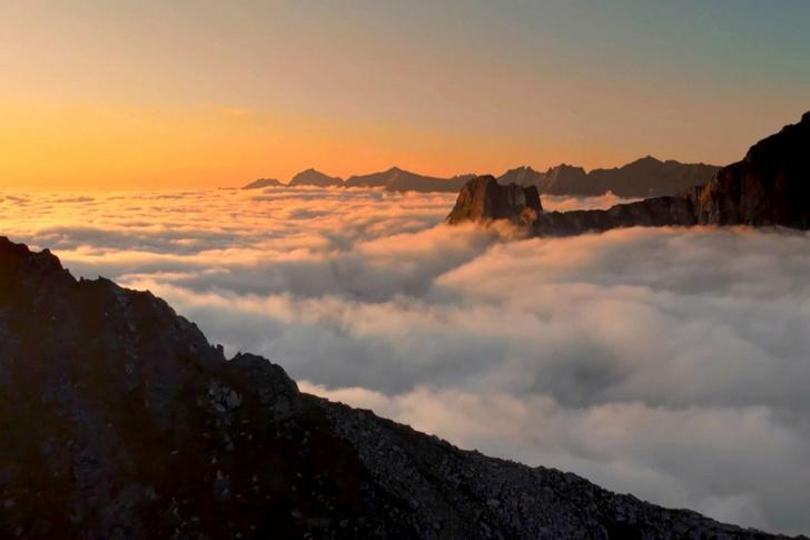 Фото №1 - Над облаками