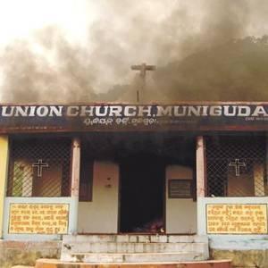 Фото №1 - В Индии горят церкви
