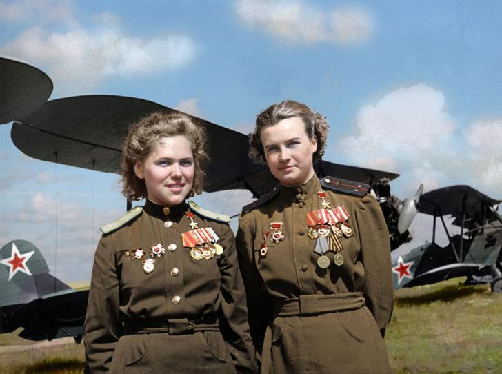 Фото №1 - «Ночные ведьмы»: советские летчицы, которых боялись все немецкие солдаты