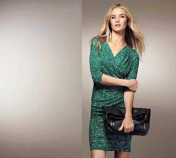 Рози Хантингтон-Уайтли для Marks & Spencer