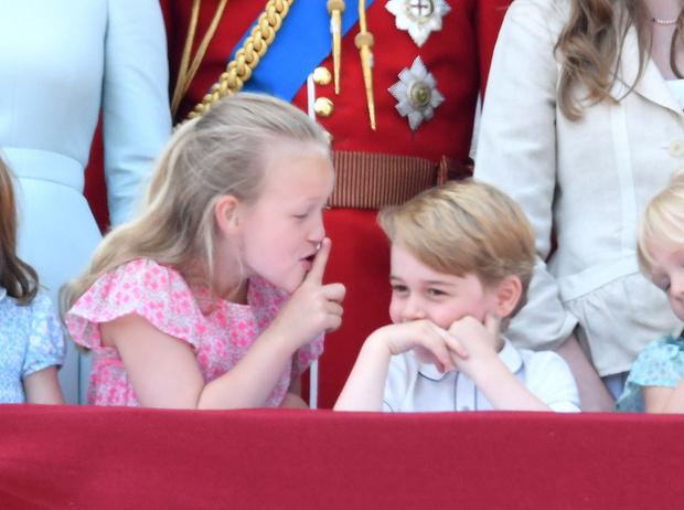 Фото №4 - Кто эта девочка, затмившая принца Джорджа и принцессу Шарлотту