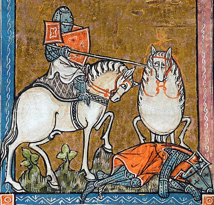 Фото №4 - Они все страдают: история юмора в картинках со «Страдающим Средневековьем»