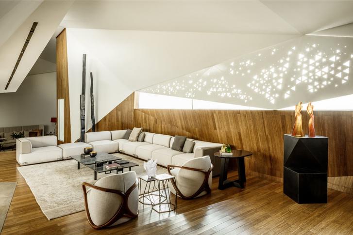 Фото №6 - Необычный дом-оригами в Кувейте: проект студии AGi Architects