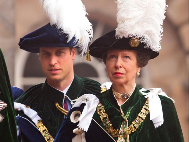 Фото №1 - Конфликт интересов: почему принцесса Анна не хочет, чтобы Уильям стал королем