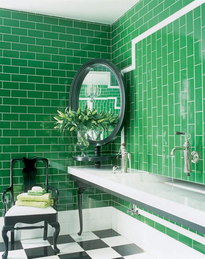 Фото №10 - Зеленый цвет в интерьере: советы по декору