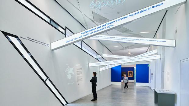 Фото №1 - Обновленное пространство Еврейского музея в Берлине