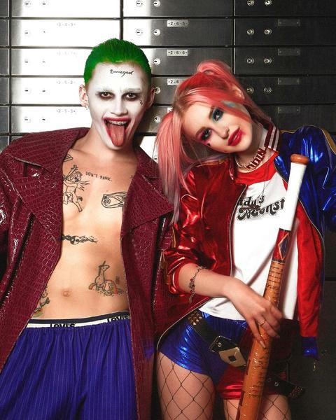 Фото №1 - Макияж Харли Квинн: Диана Астер превратилась в подружку Джокера