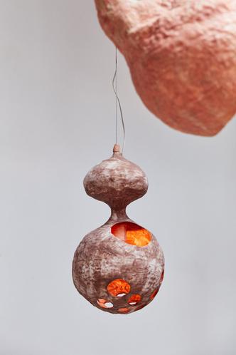 Фото №7 - You See a Sheep: коллекция керамических светильников от Юко Нисикавы