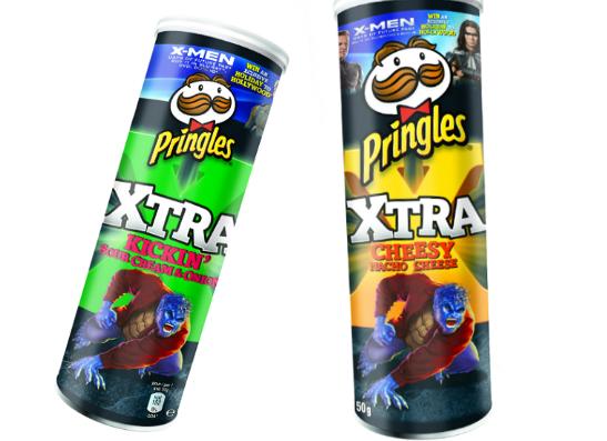 Фото №1 - Pringles запустил промо-акцию для фанатов «Людей Икс»