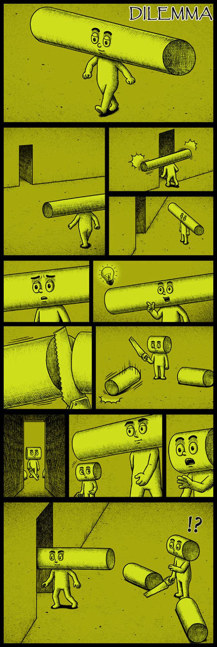Фото №8 - 30 комиксов с отборным черным юмором от Бена Чена