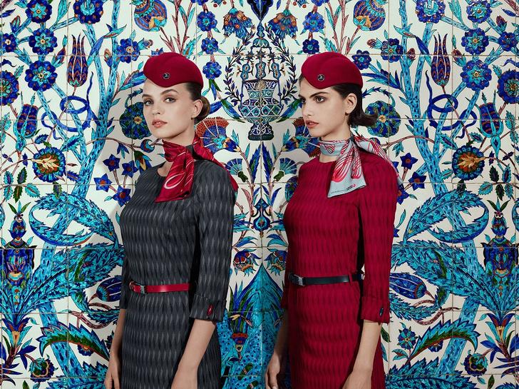 Фото №2 - Вдохновленная Стамбулом: Turkish Airlines представила новую форму
