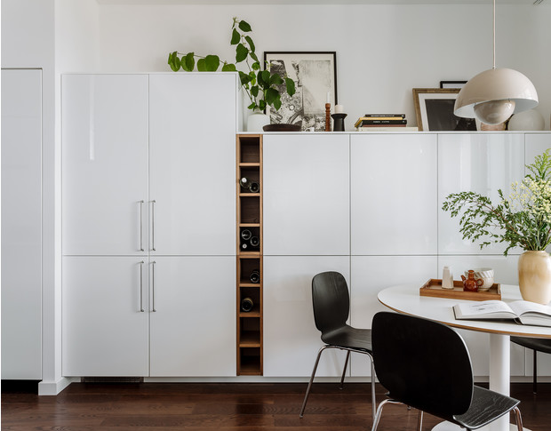 Фото №10 - Интерьер месяца: уютная квартира 35,7 м² в скандинавском стиле