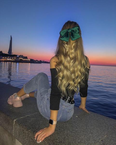 Фото №2 - 6 идей причесок для длинных волос от Кристи Крайм
