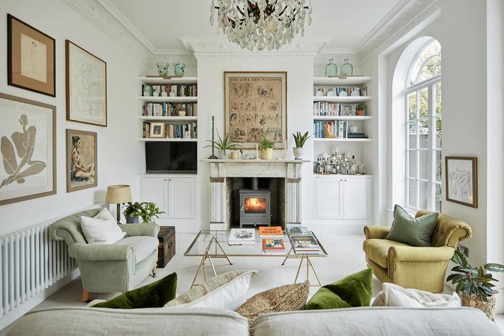 Фото №1 - Апартаменты в викторианском доме в Лондоне