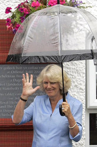 Фото №18 - Виндзорские зонтики: королевский способ спрятаться от дождя