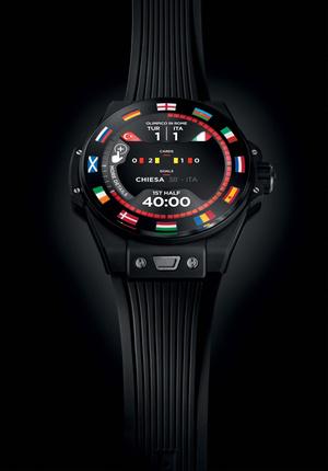 Фото №5 - Спортивный настрой: как выглядят новые смарт-часы Hublot в честь Euro 2020
