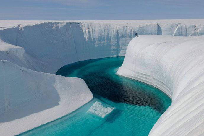 Синяя река, Гренландия
