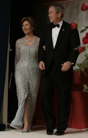 Фото №19 - Королевы Белого дома: самые роскошные инаугурационные платья Первых леди