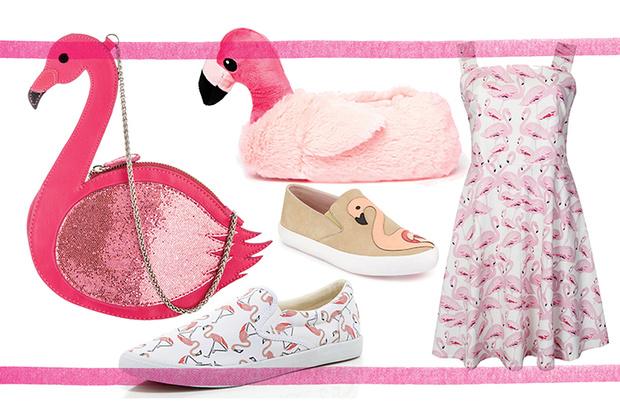 Фото №1 - Топ-10: Вещи с фламинго