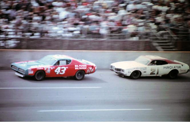 Фото №1 - Лучший финиш в истории NASCAR (видео)