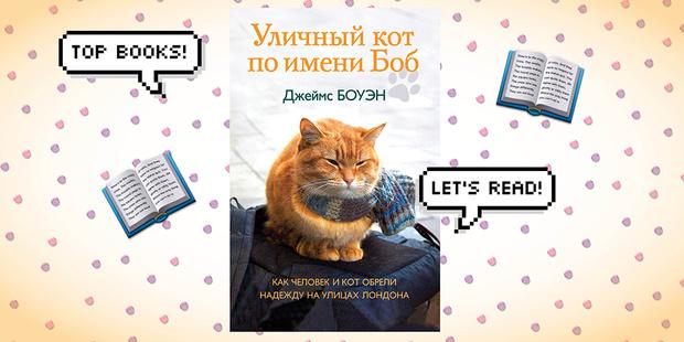 «Уличный кот по кличке Боб», Джеймс Боуэн