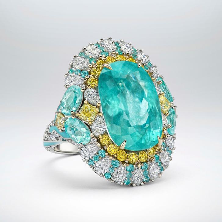 Фото №3 - Морская стихия: кольцо ювелирного бренда Parure Atelier