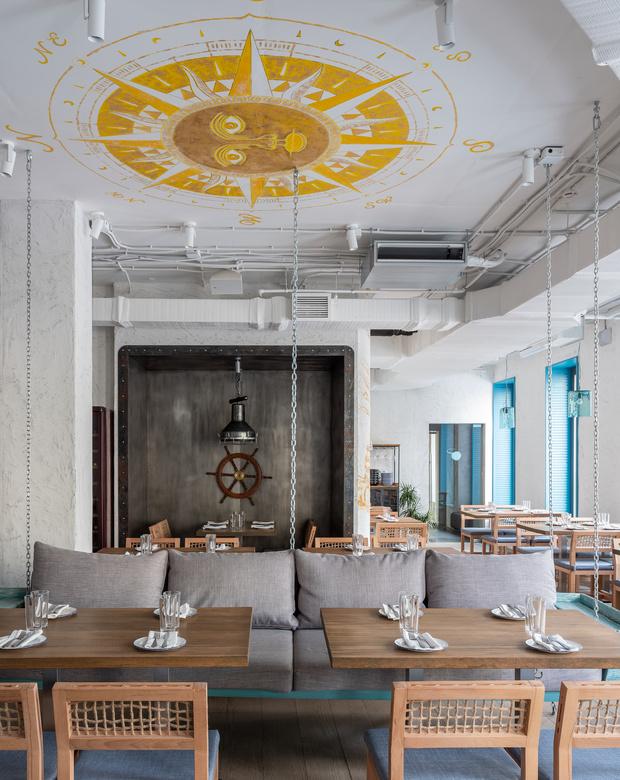 Фото №6 - Ресторан «Морская» в Москве
