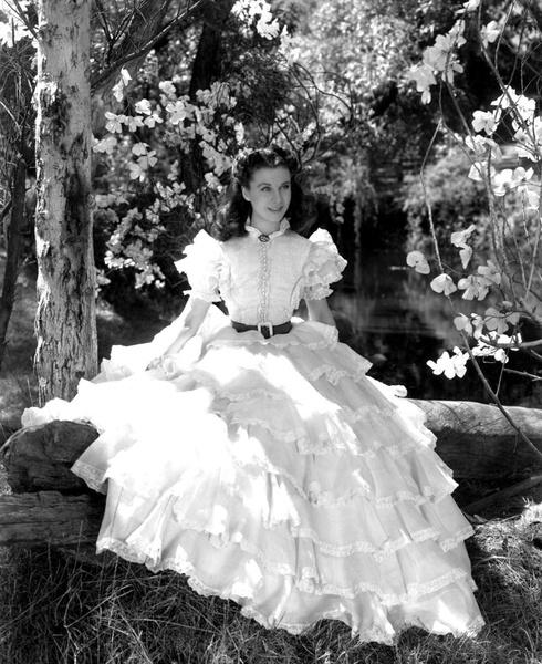 Платье «С любовью к Таре» из первой сцены «Унесенных ветром»