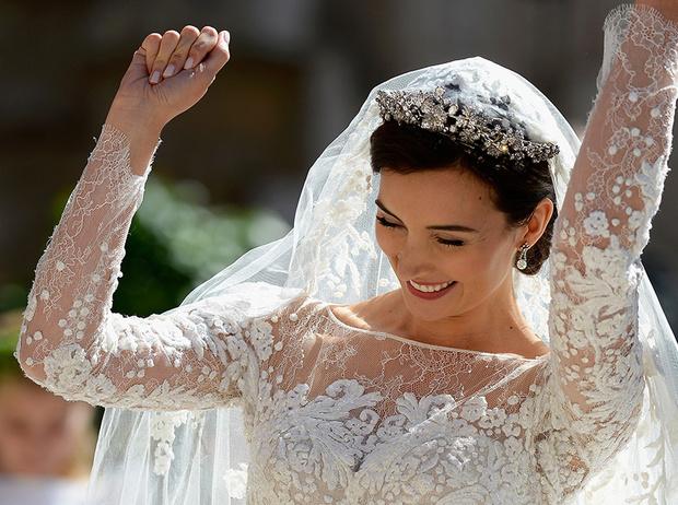Фото №1 - Самые забавные моменты на королевских свадьбах (истории в фотографиях)
