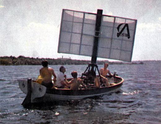 Фото №1 - Лисэд выходит в море