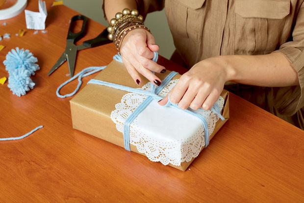 Фото №12 - Мастер-класс: Делаем открытку и упаковываем подарок