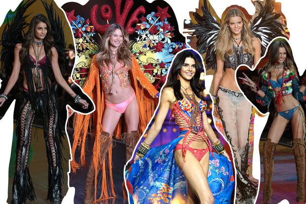 Фото №1 - Самые красивые образы с показа Victoria's Secret