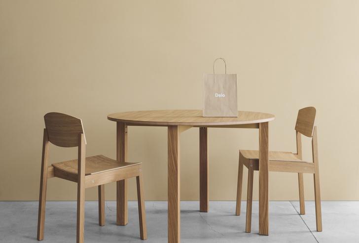 Фото №1 - Made in Russia: новый стул «Бро» марки Delo Design