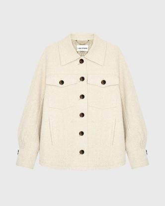 Фото №12 - Где купить точно такую же куртку-рубашку, как у Лили Коллинз, и еще 4 похожие альтернативы