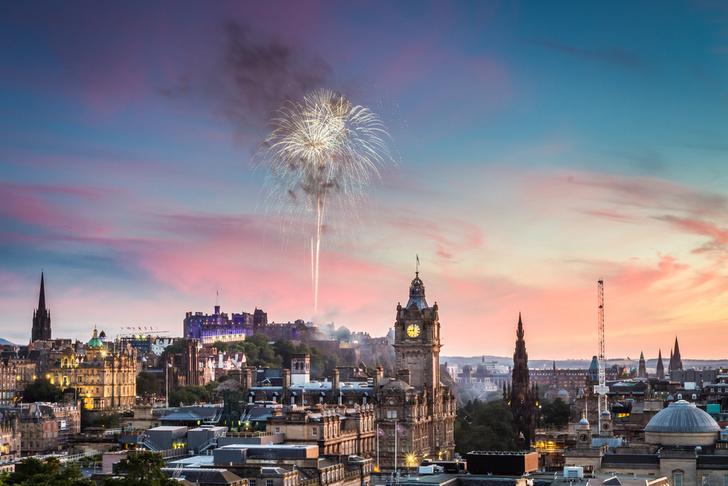 Фото №1 - Самой дорогой новогодней столицей в Европе стал Эдинбург
