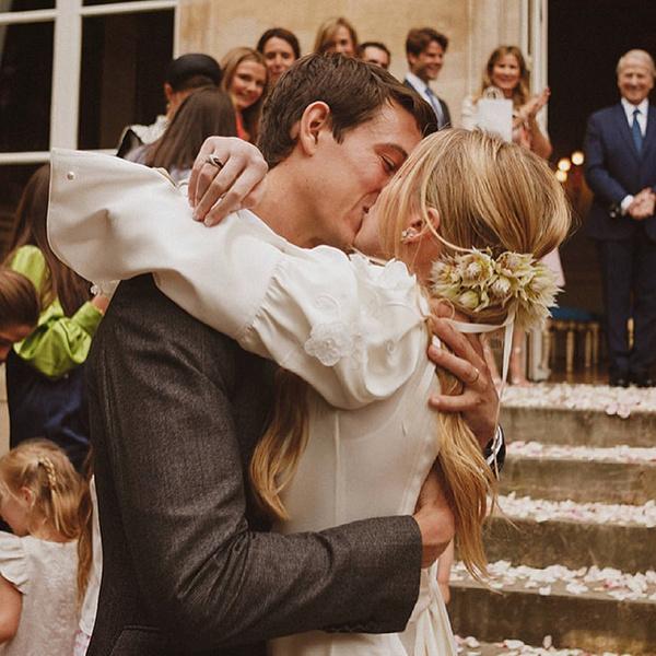 Фото №1 - В стиле Тиффани: 29-летний наследник Бернара Арно женился