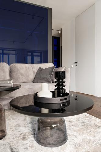 Фото №7 - Современная квартира в темных тонах 103 м²