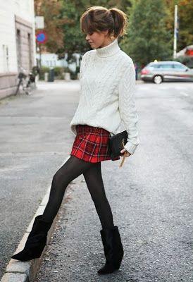 Фото №5 - Антитренд: как НЕ нужно носить юбки зимой ❌