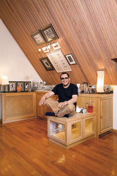 Фото №8 - Егор Кончаловский: «Самая большая территория в доме— моя»