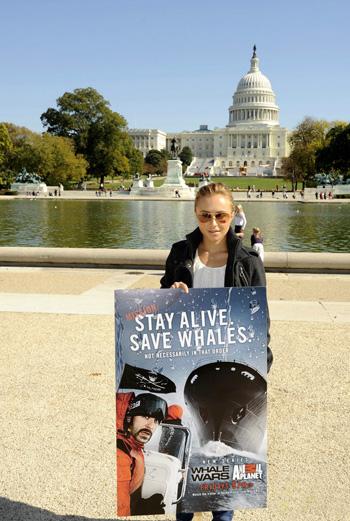 Фото №2 - Хэйден Панеттьери снова спасает китов