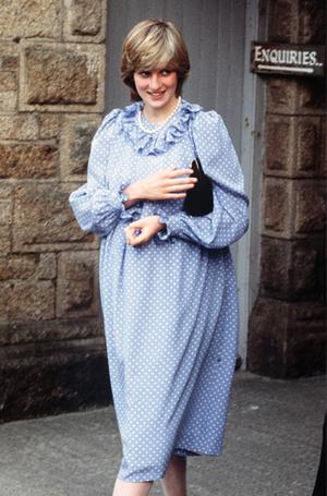 Фото №12 - Стиль беременной принцессы Дианы