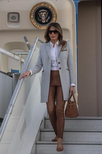 Фото №4 - Во сколько оценивается коллекция сумок Birkin Мелании Трамп?