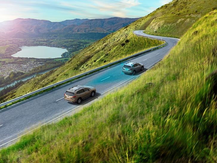 Фото №5 - Новый кроссовер Subaru Forester — идеология превосходства