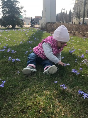 Фото №9 - Малыш, весна пришла! Голосуем за самое радостное детское фото