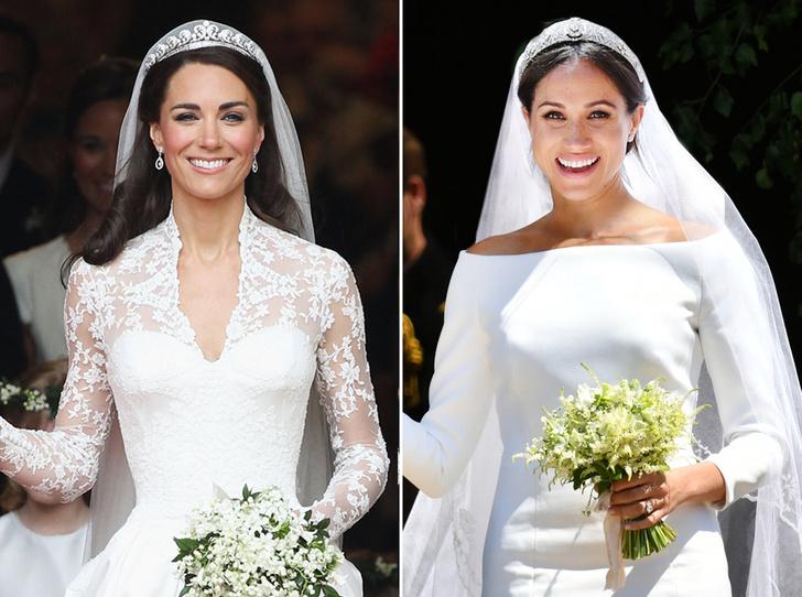 Фото №1 - Две невесты: Меган Маркл vs Кейт Миддлтон