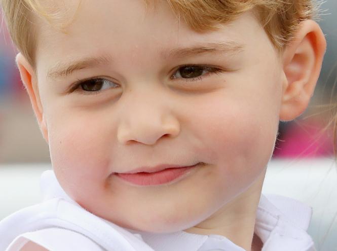 Фото №1 - Принц Джордж Кембриджский: три года в фотографиях