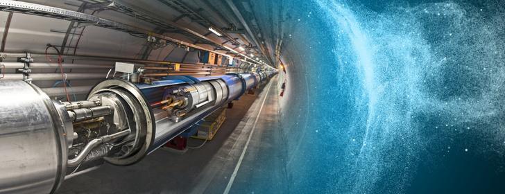 Фото №1 - Большой адронный коллайдер успешно запущен после двухлетнего перерыва